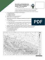 Examen  astronomía y astrofisica
