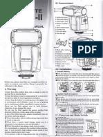 Yongnuo Speedlite YN460-II Instruction Manual