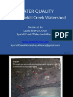 Sparkill Creek Water Quality_SCWA
