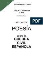 Poesía sobre la Guerra Civil Española - Antología