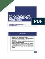 Valorizacion de Yacimientos Mineros 2013 (1)