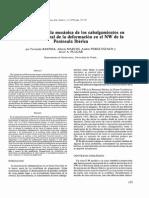 Aproximación a La Mecánica de Los Cabalgamientos en El Contexto General de La Deformación en El NW de La Península Ibérica