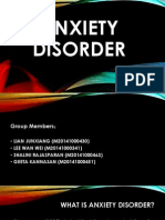 Anxiety Disorder 10112014