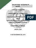 Práctica Número 18. Farmacología Renal. Luna López Luis Miguel.