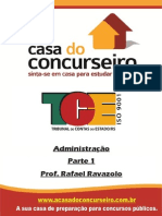 Apostila TCE Administração Ravazolo