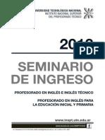 Seminario 2013 Ingles
