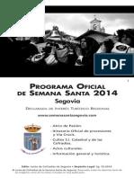 Programa Semana Santa Cofradías 2014