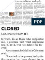 Coleman Closed