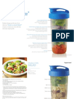 Tupperware Quick Shake Salad Recipes