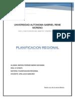 Planificacion Regional Definicion