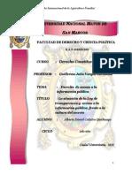 Trabajo de Invesstigación Anual -Tema_ Derecho de Acceso a La Información Pública