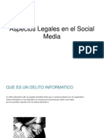 Aspectos Legales en El Social Media