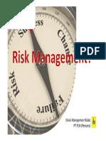 Materi 3 - Manajemen Risiko