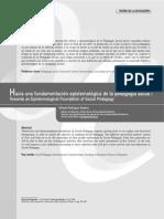 Fundamentacion Epistemologica Pedagogia Social
