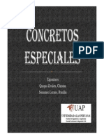 ppt concretos especiales