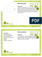 Recipe Card Template 4x6