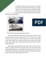 Sesuai Dengan Namanya Gempa Vulkanik Atau Gempa Gunung API Merupakan Peristiwa Gempa Bumi Yang Disebabkan Oleh Tekanan Magma Dalam Gunung Berapi