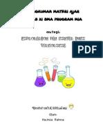 Rangkuman Materi Ajar termokimia dan hidrokarbon