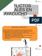 Conflictos Sociales en Ayacucho