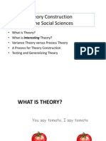PHD Theory Construction