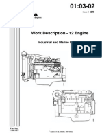 SCANIA Work Description Engine - 12 Industrial And Marine Engine
