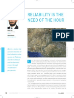 Reliability is the Need of the Hour