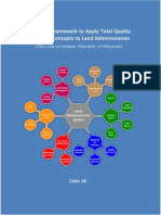 Developing a framework to apply Total Quality Management concepts to land administration