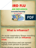 BIRD FLUAVIAN INFLUENZA essential learning