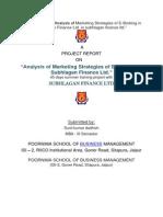 Shublagan Finance LTD.