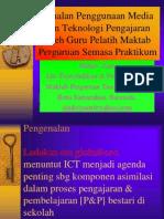 Penggunaan Media  Tekno Pengajaran - Seminar UPSI 2002