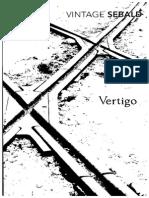 Vintage Sebald Vertigo