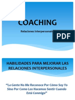 COACHING - Relaciones Interpersonales