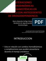 Alteraciones Hemodinámicas Transanestésicas en Pacientes Con Antecedentes De