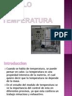 Diapos Modulo de Temperatura