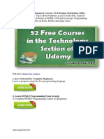 Udemy Free Development Courses - Top 52 Free Courses