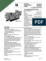Caterpillar Gas Engine