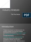 IndustIndustry Analysis - 5 forces.ppt
