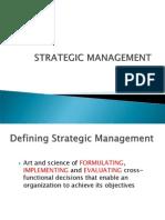 Strategic Management - Introduction