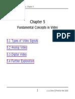 Video concept in multi media