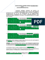 SAC Sin Directorio Dinerario