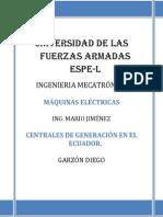 Resumen Centrales Energéticas