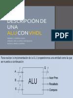 ALU en VHDL