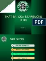 Cafe Starbuck in vietnam
