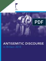 Antisemitic Discourse Report 2013