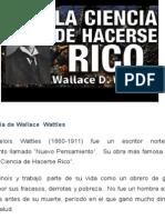 Resumen Del Libro La Ciencia de Hacerse Rico (Wallace Wattles)
