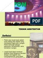 Presentasi Plafon