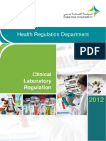 Clinical Laboratory Regulation