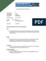 Formulir Spirit Kewirausahaan Nasional 2013 Jewika