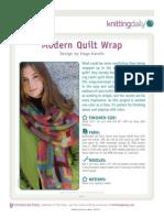 Modern Quilt Wrap-A