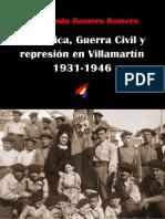 Republicax Guerra Civil y Represion en Villamartin
